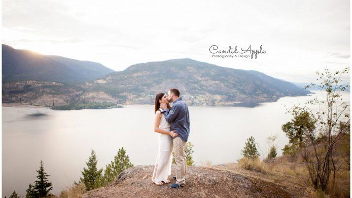 Aaron & Kyla | Knox Mountain Engagement