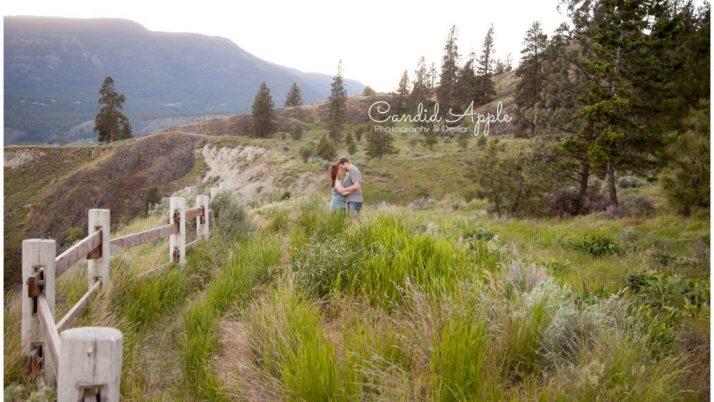 Tim & Rachel | Knox Mountain Engagement