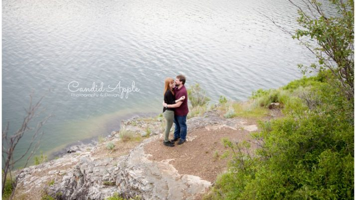 Dan & Lisa | Kalamalka Lake Engagement