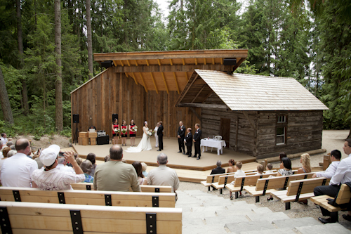 RJ Haney Heritage Village Is A Beautiful Wedding Venue Located In The Shuswap