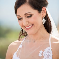 Beautiful bride makeup by Tanin Nicole