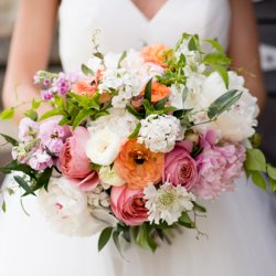 Beautiful bridal bouquet by lavender and lace floral farm