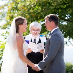 Kelowna wedding ceremony at the Harvest Golf Club