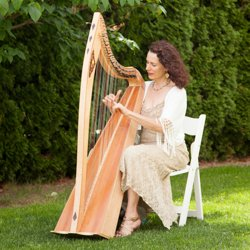 The Harp Lady, wedding music