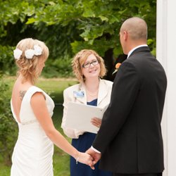 Maureen Taylor, wedding officiant