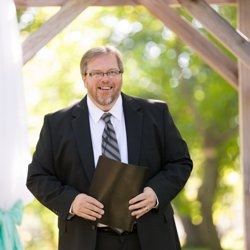 Mark Gordon, wedding officiant