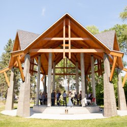 Skaha Pavillion, wedding venue