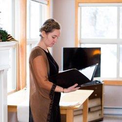 Sue Cairnie, wedding officiant