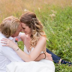 Wedding hair by Lindsay Wilson