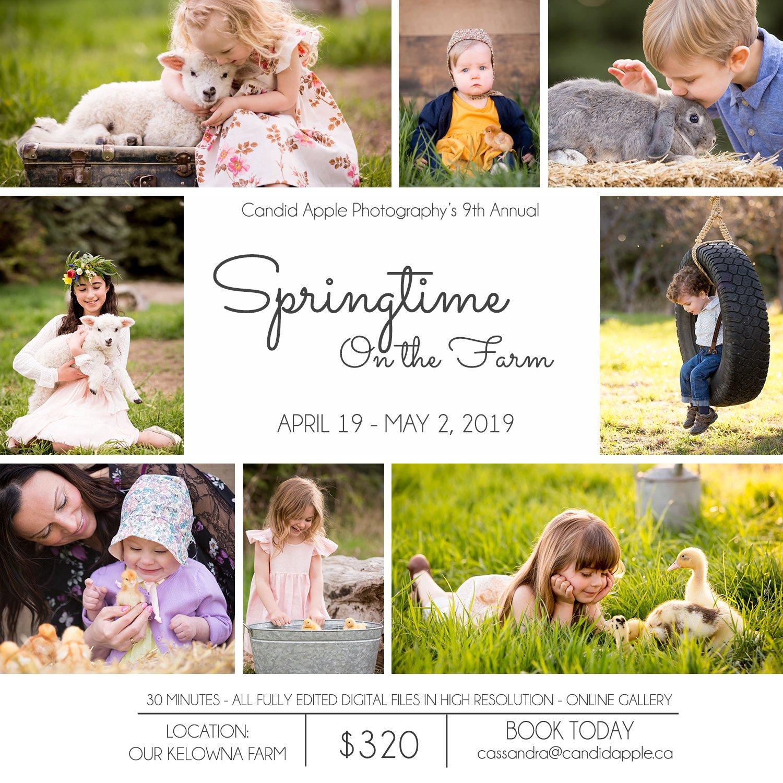 Springtime On the Farm poster