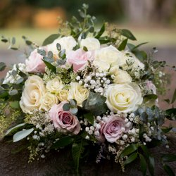 Bride's floral bouquet by Floral Therapy Kelowna
